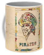 Pittsburgh Pirates Vintage Art Coffee Mug