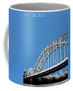 Pittsburgh Skyline 16th St. Bridge - Slate Coffee Mug