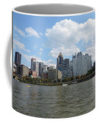 Pittsburgh Skyline From The Waterfront Coffee Mug