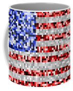 Pixel Flag Coffee Mug