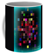 Pixel Quilt Coffee Mug