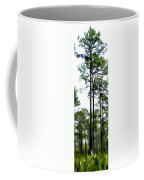 Pixelated Pine Coffee Mug