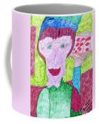Pizza Anyone Coffee Mug by Elinor Rakowski
