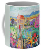 Place In The Country, 2014, Acrylicpaper Collage Coffee Mug