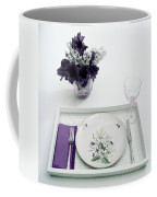 Place Setting With With Flowers Coffee Mug