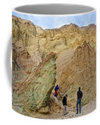 Places To Climb In Golden Canyon In Death Valley National Park-california Coffee Mug