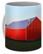 Plain Jane Red Barn Coffee Mug
