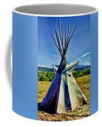Plains Tribes Teepee Coffee Mug