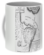 Plan Of West Point Coffee Mug by French School