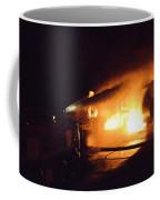 Plane Burning Coffee Mug