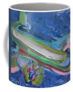 Plane Colorful Coffee Mug