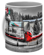 Flying To Lunch In Pacific Northwest Washington  Coffee Mug