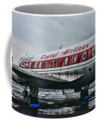 Plane Obsolete Capital Airlines Coffee Mug