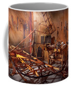 Plane - The Dawn Of Aviation Coffee Mug by Mike Savad