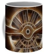 Plane Wooden Prop Coffee Mug by Paul Ward
