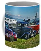 Planes And Cars Coffee Mug
