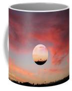 Planet And Sunset Coffee Mug
