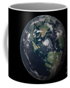 Planet Earth 90 Million Years Ago Coffee Mug by Walter Myers