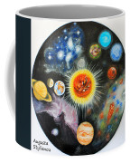 Planets And Nebulae In A Day Coffee Mug