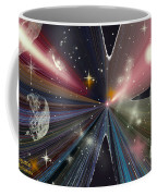 Planets Dancing Coffee Mug