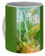 Plantain Walk Watchman And Hut Coffee Mug