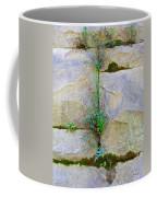 Plants In The Brick Wall Coffee Mug