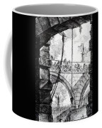 Plate 4 From The Carceri Series Coffee Mug