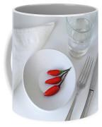 Plate Of Chilies  Coffee Mug