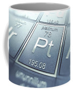 Platinum Chemical Element Coffee Mug