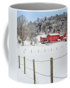 Platt Farm Square Coffee Mug by Bill Wakeley