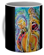Play The Blues Bass Man Coffee Mug