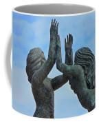 Playa Del Carmen Statue Coffee Mug