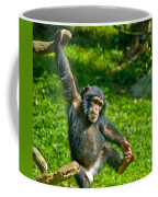 Playful Chimp Coffee Mug
