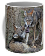 Playful Wolves Coffee Mug