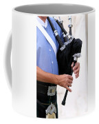 Playing Bagpipe Coffee Mug