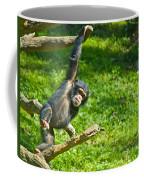 Playing Chimp Coffee Mug