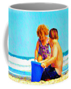 Playing In The Sand Coffee Mug