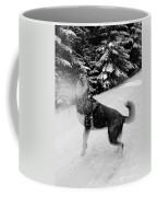 Playing In The Snow Coffee Mug by Carol Groenen