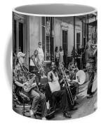 Playing Jazz On Royal Street Nola Coffee Mug