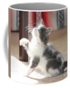 Playing Kitten Coffee Mug