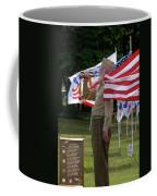 Playing Taps 2 Panel Composite Digital Art Coffee Mug