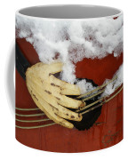 Playing The Cold Blues Coffee Mug