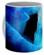Playing With The Snow And Ice Kappl Mountain Austria  Coffee Mug