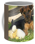 Playmates - Puppy With Toy Coffee Mug