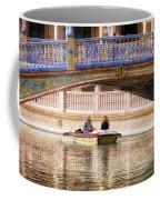 Plaza De Espana Rowboats Coffee Mug