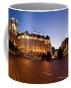 Plaza De Neptuno And Palace Hotel Coffee Mug