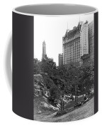 Plaza Hotel From Central Park Coffee Mug