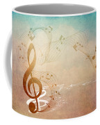 Please Dont Stop The Music Coffee Mug by Angelina Vick