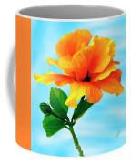 Pleasure - Yellow Double Hibiscus Coffee Mug