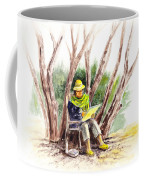 Plein Air Artist At Work Coffee Mug by Irina Sztukowski